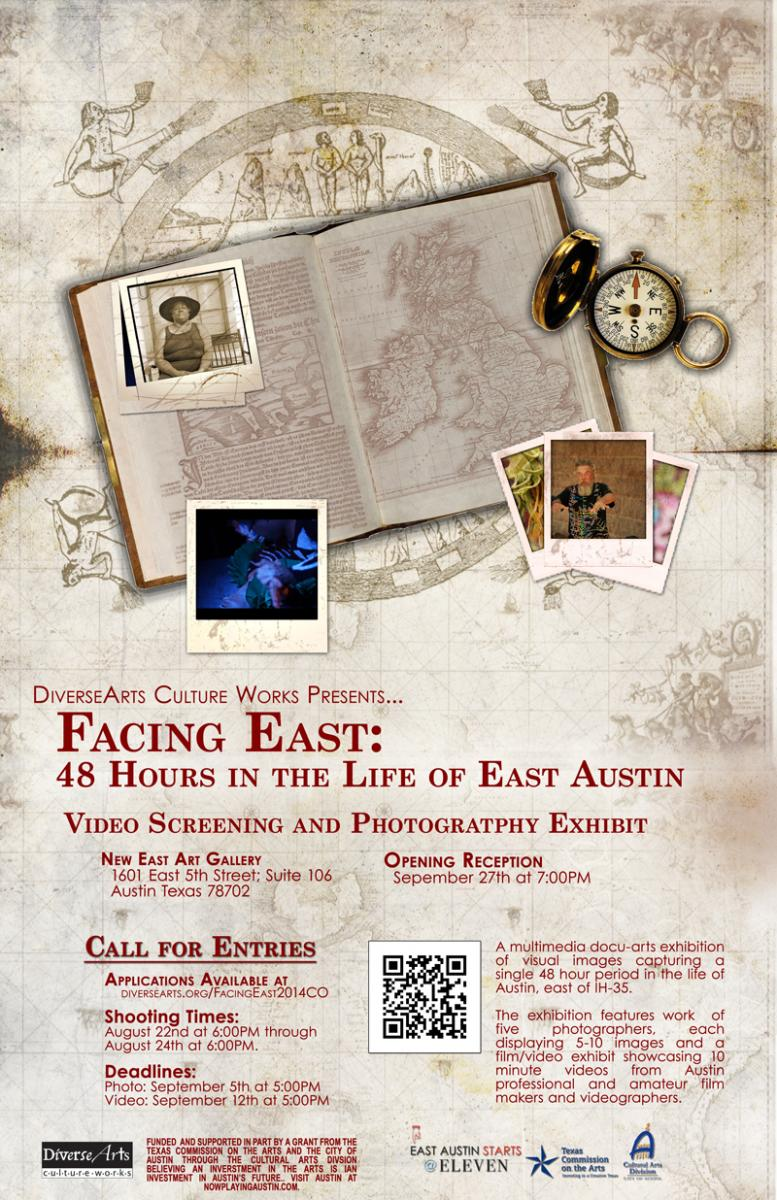 Facing East 2014 Poster