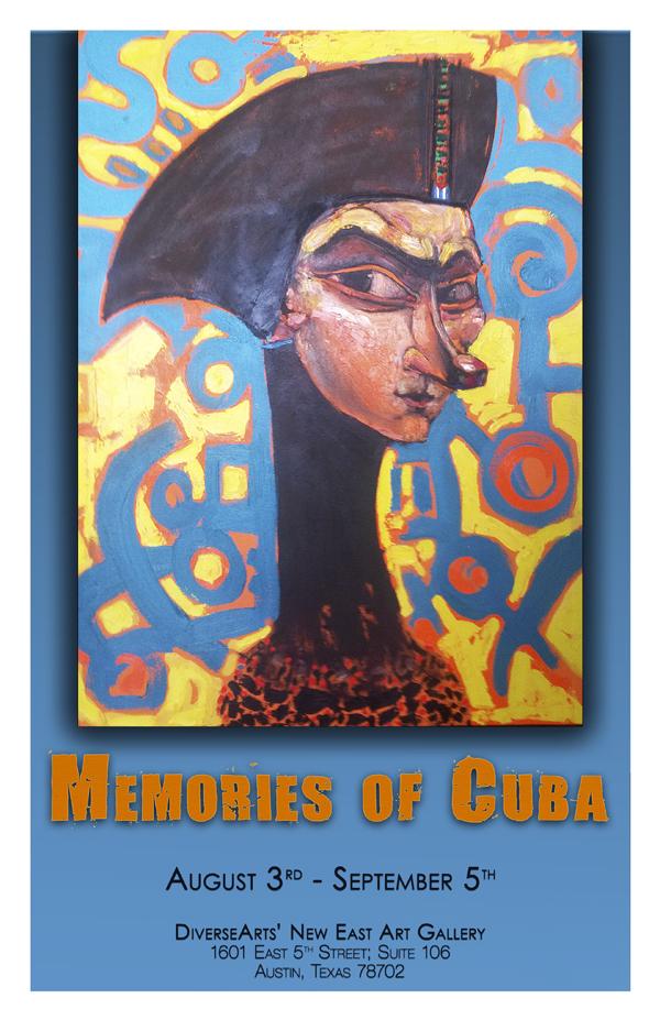 Luis Abreux  Exhibit Poster