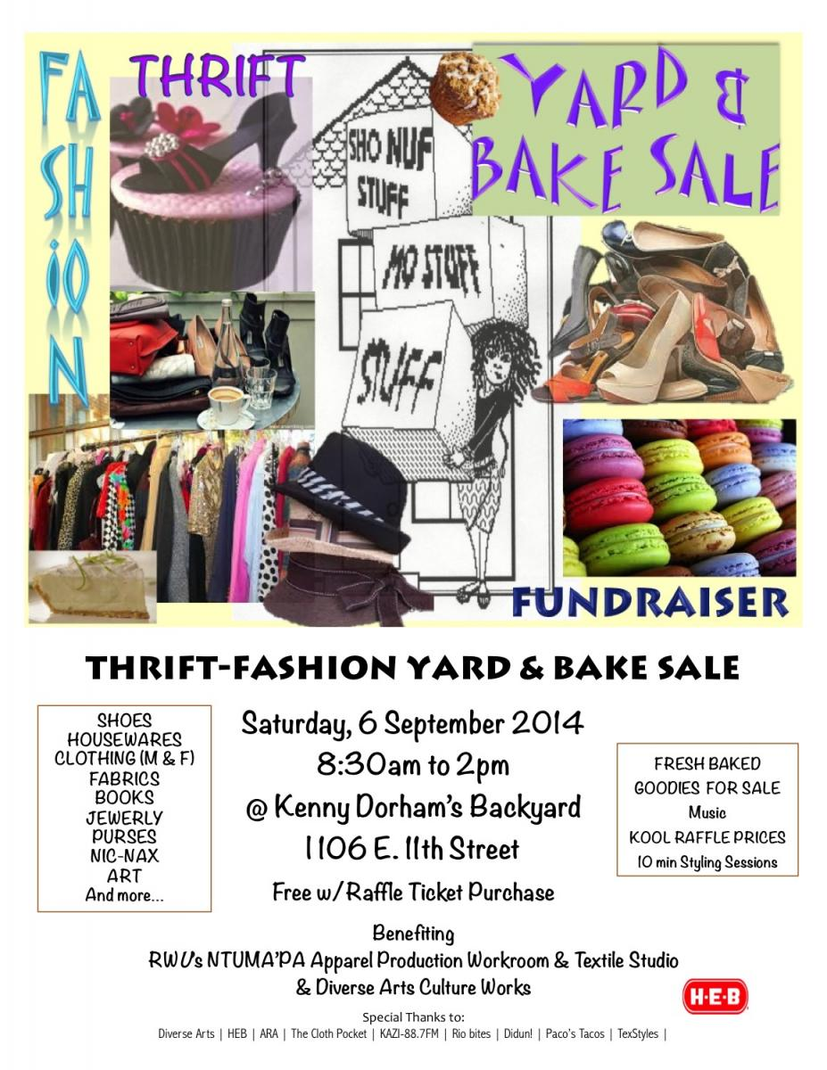 Fashion Thrift Yard Sale