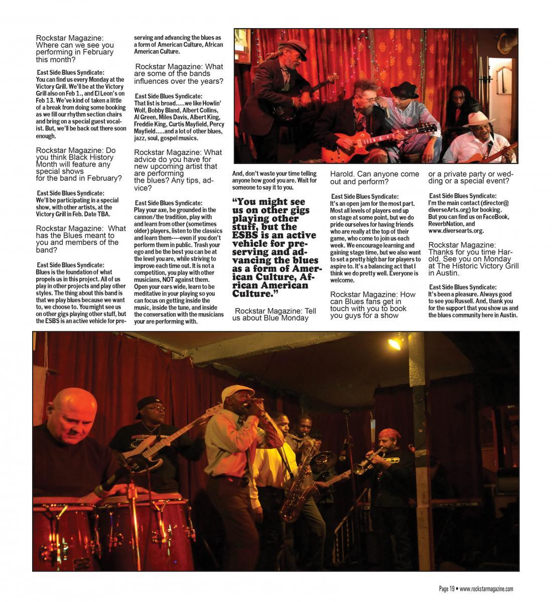 Rockstar Magazine: Feb. 2014
